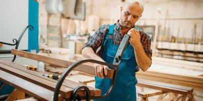Carpenter Wooden Bench Manufacturing Joiner Job PRPCVQP