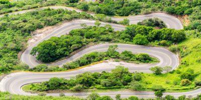 Switchback Road View P9CQLNM